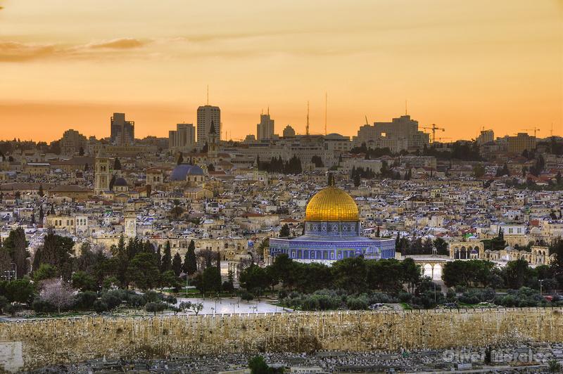 Jerusalem,  from Mt of Olives